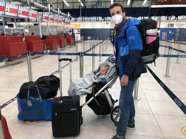 Cestování během koronavirové pandemie