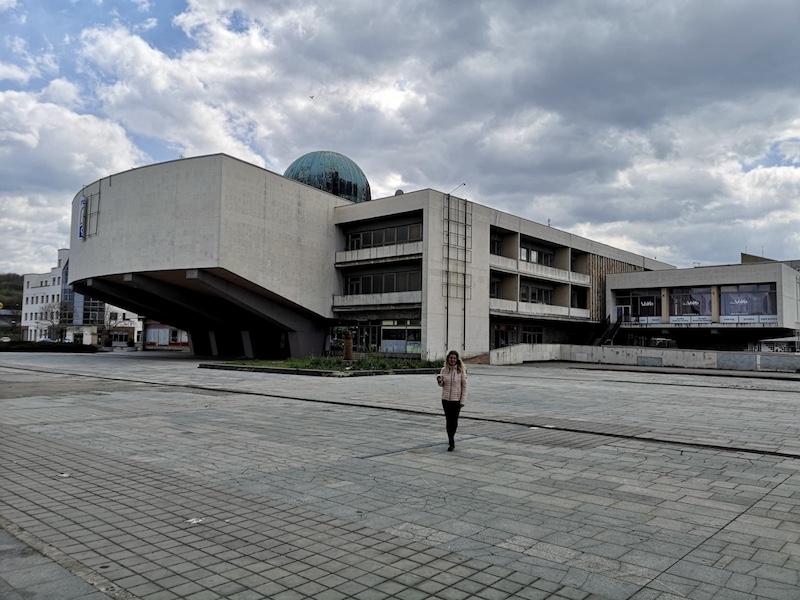 Kulturní dům Repre s kopulí Planetária