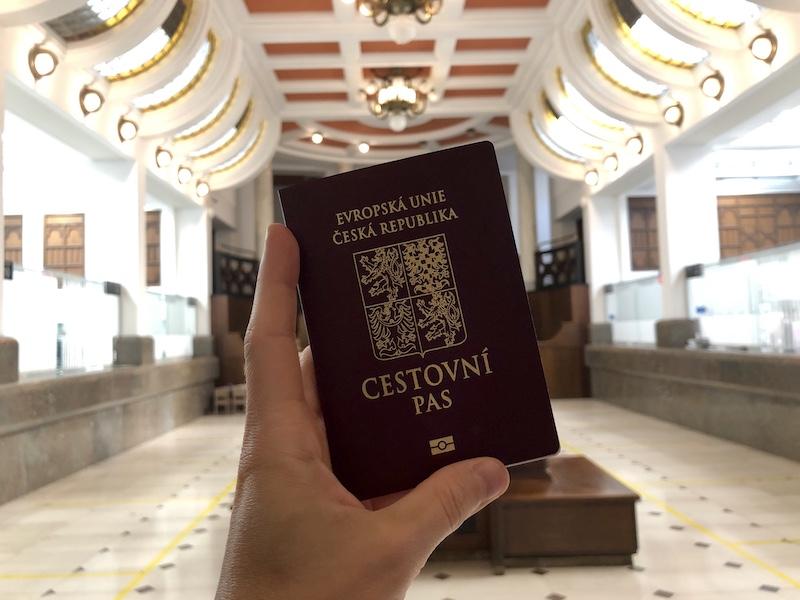 Cestovní pas pro miminko
