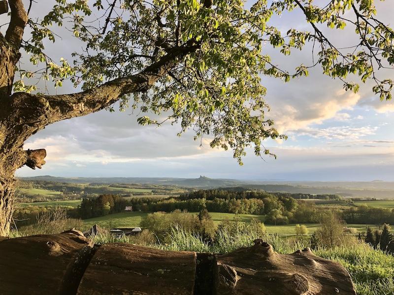 Výhled na hrad Trosky