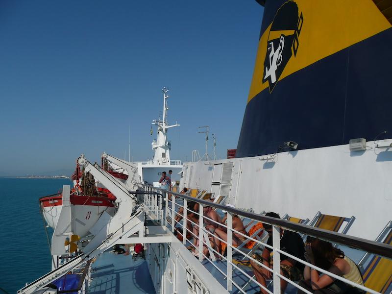 Trajekt Livorno-Corsica