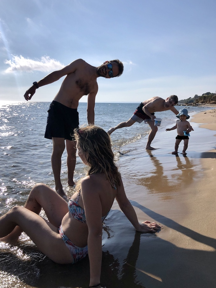 Pláž nedaleko Sciaccy