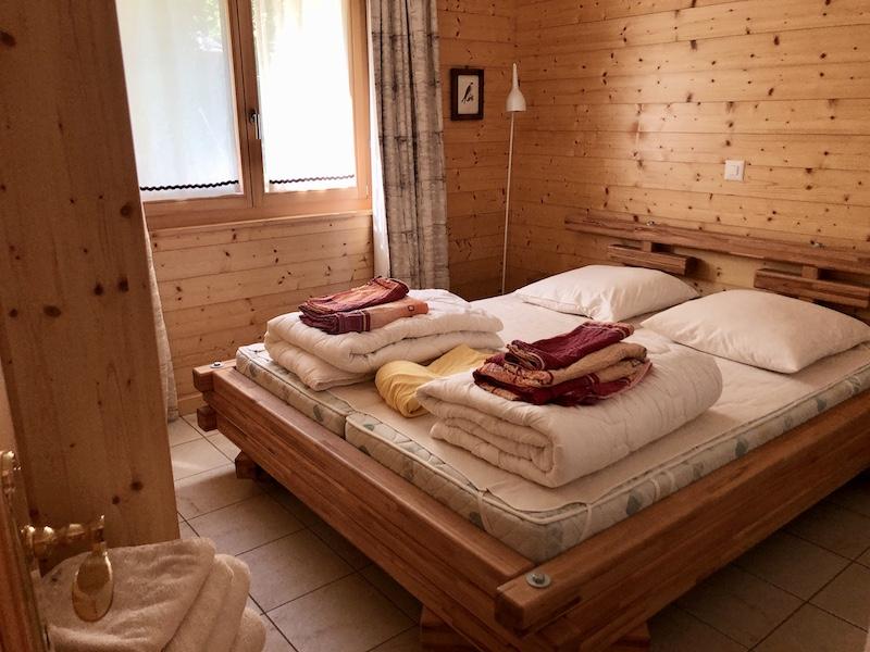 Jedna ze dvou ložnic, mohlo nás klidně jet víc