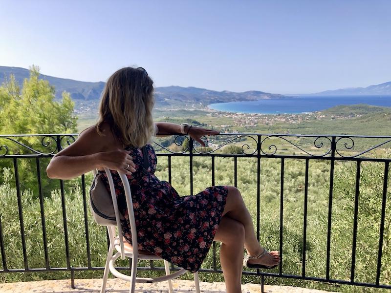 Výhled z restaurace Tou Levante